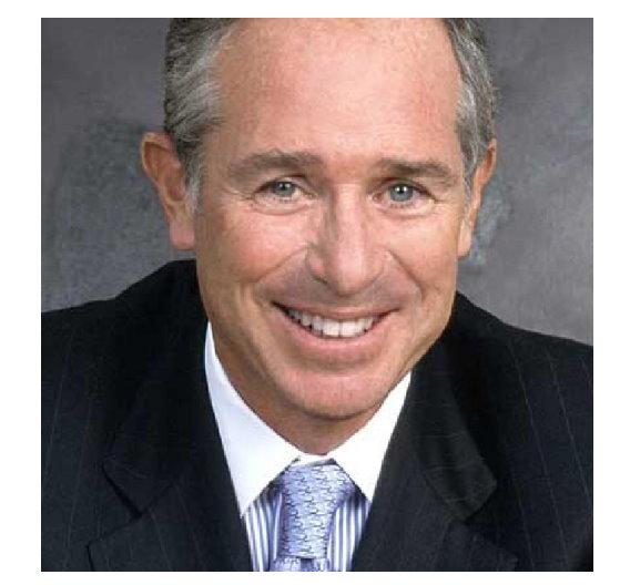 Blackstone-CEO Stephen Schwarzman verdiente im Jahr 2008 nach dem Börsengang 5 Mrd. Dollar.