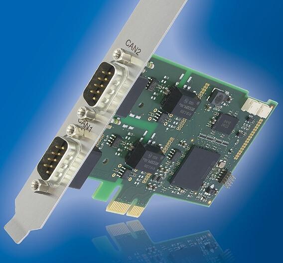 Auf einem modularen Architekturkonzept beruht die CAN-Interface-Karte CAN-IB100/PCIe von Ixxat Automation.
