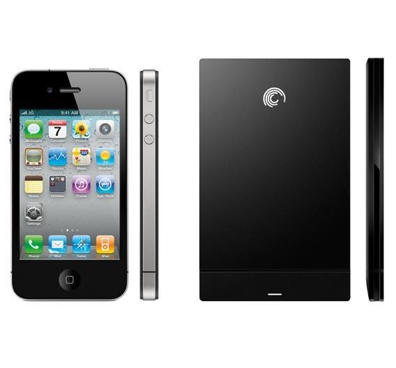 GoFlex - mobile, batteriebetriebene Festplatte für Smartphones und Tablets.