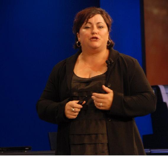 Renee James leitet bei Intel die Software- und Service-Gruppe.