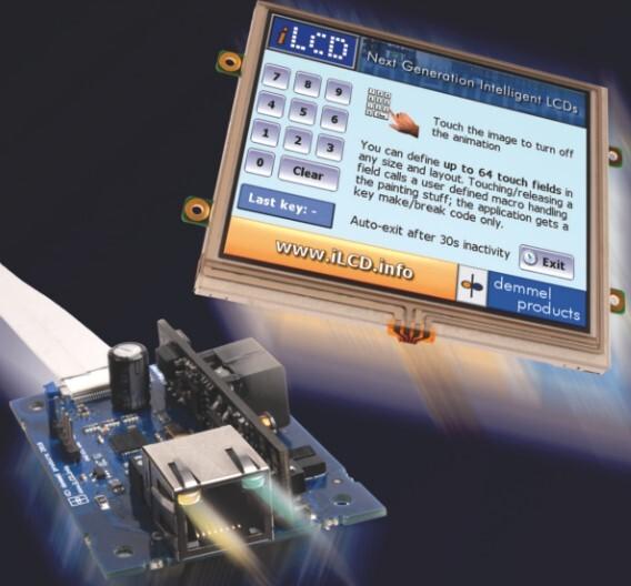 Die ethernetfähigen iLCD-Monitore von demmel products gibt es derzeit mit Diagonalen von 3,5 bis 10 Zoll.