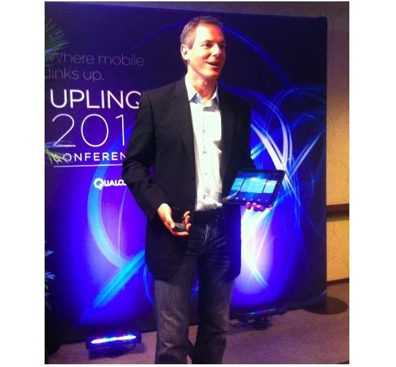 Qualcomm-CEO Dr. Paul Jacobs hielt die Keynote auf der Uplinq 2011.