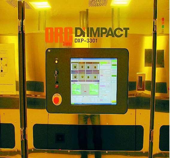 Bild 1: Der UV-Direktbelichter »DI Impact 3301«
