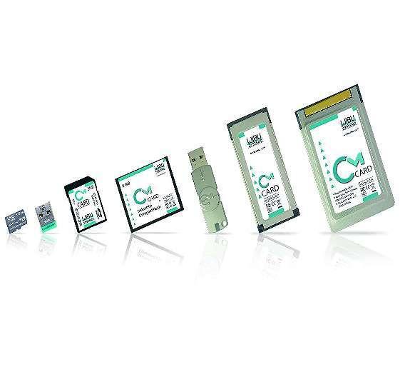 Bild 2: Die »CodeMeter«-Schutzhardware gibt es in verschiedenen Bauformen, auch als Einsteckkarte für Industrie-PCs mit industriellen Anforderungen.