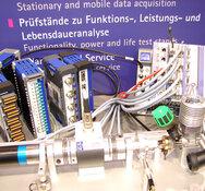 Sensor+Test 2011, HBM, Nachbau eines Motorenprüfstandes