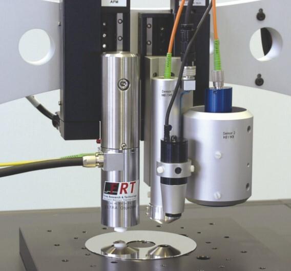 Multisensor-Anordnung bei einem MicroGlider-Messgerät von FRT