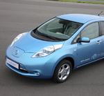Unterwegs mit dem Nissan Leaf