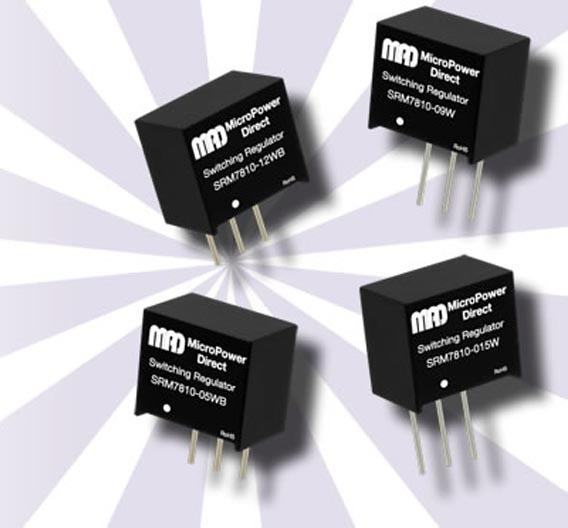Die Ausgangsspannungen der »SRM 7810«-Regler liegt bei 3,3 V (plus oder minus) oder 5 V (plus oder minus).