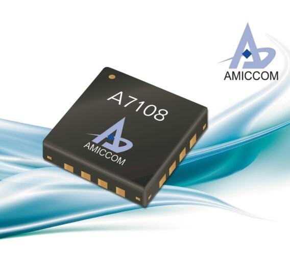 Der ISM-Funktransceiver A7108 ermöglicht Sendebetrieb bis +19 dBm in den vier weltweit vorkommenden Sub-1-GHz-Bändern.