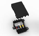Flexibel montier- und skalierbare Leistungsverteilerdose