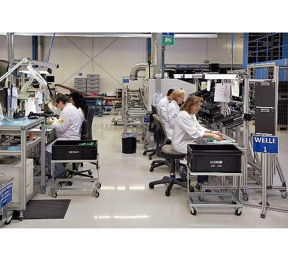 Bild 1: Individuelle Fertigungsinseln für jedes Produkt wirken sich bei Ihlemann positiv auf die Qualitätskennzahlen aus.
