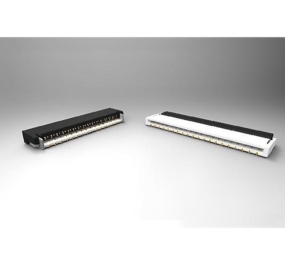 Steckverbinder im 0,3 mm Raster für Flexible Printed Circuit Boards