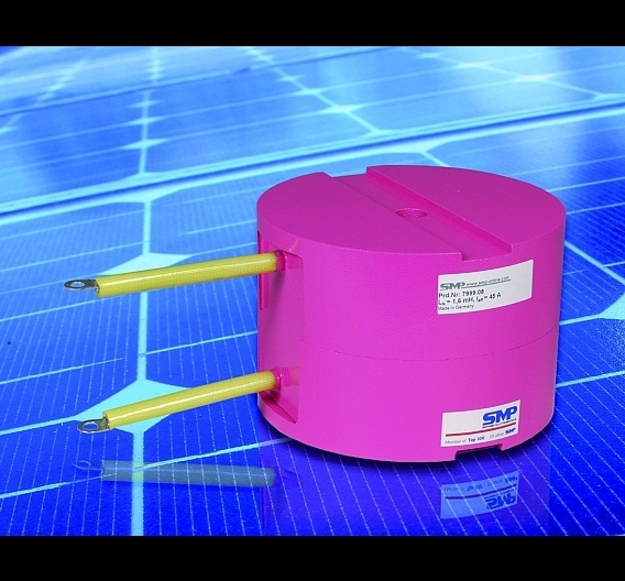 Induktive Bauelemente für Solarwechselrichter-Applikationen
