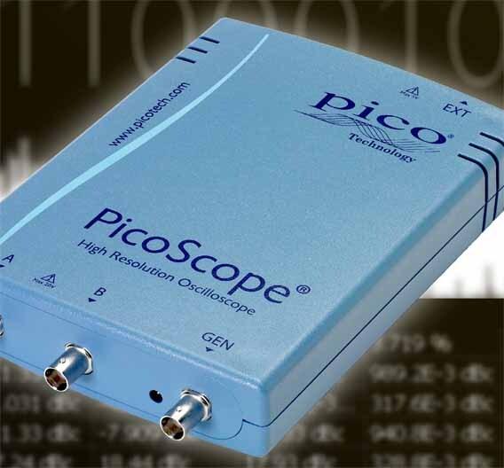 Mit 16 bit Amplitudenauflösung kann das Picoscope 4262 aufwarten.