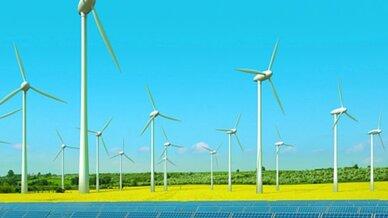 Wago, Windenergieanlage mit Solarzellen