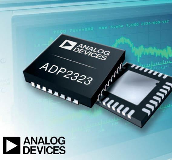 Der Abwärtswandler ADP2323 von Analog Devices .