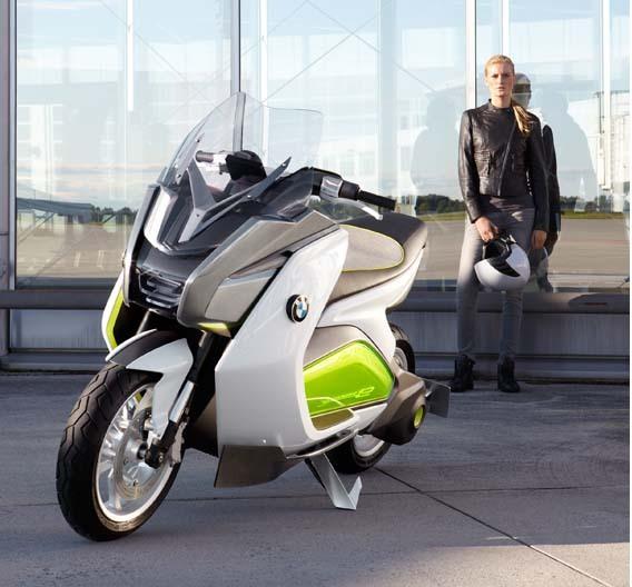 """Elektroroller-Studie von BMW: """"Concept e""""."""