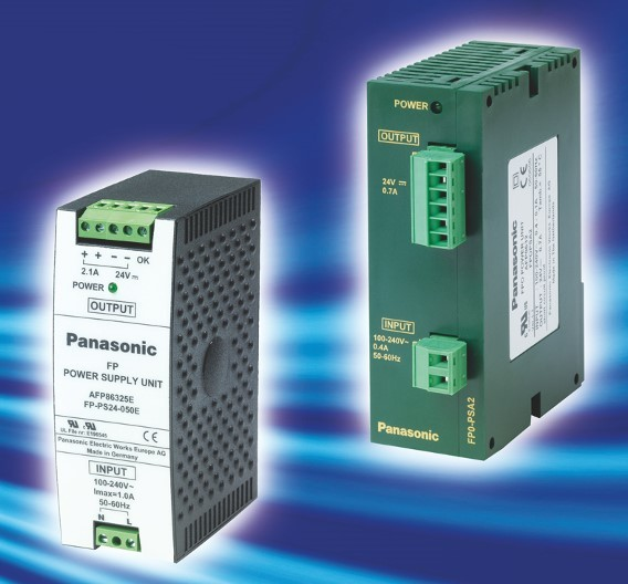 Netzgeräte FP0PSA2 und FPPS24050 von Panasonic