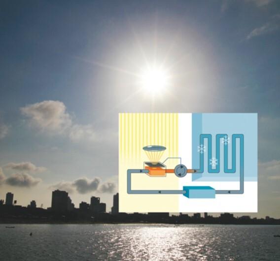 Autarke Klimaanlage soll mit Sonnenlicht kühlen