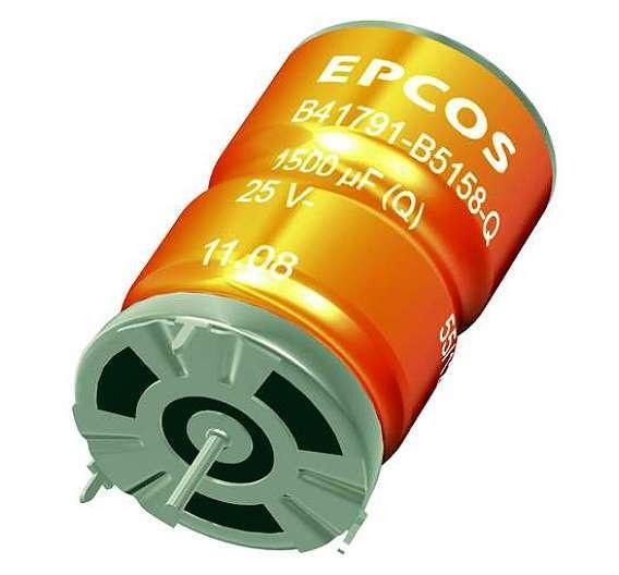 Bild 1: Durch 3-Tab-Anschlüsse sind die neuen Elkos wesentlich robuster als normale Single-ended-Typen