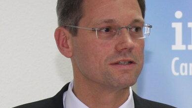 Peter Knapp, Geschäftsführer bei Interxion Deutschland