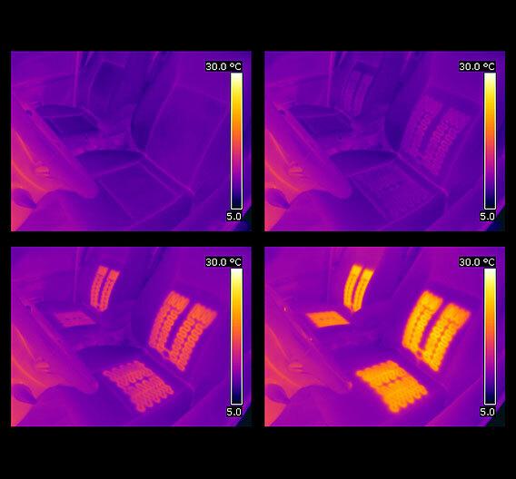 Für ein voll-radiometrisches Prozess-Monitoring: Die Kameras der Serie T und P von Flir.