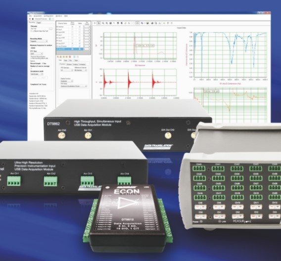 Auf höchste Präzision ausgerichtet: USB- und Ethernet-Messmodule von Data Translation