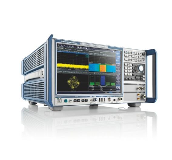 Der Spektrumanalysator R&S FSW von Rohde & Schwarz erlaubt dank seines Multi-Standard-/Multi-View-Konzepts detaillierte Einblicke in das Signalverhalten.