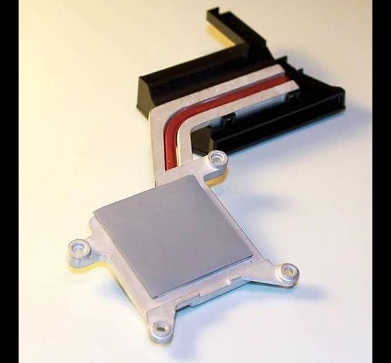 Hoch wärmeleitfähiges Gel-Pad, spezifiziert mit 12 W/mK