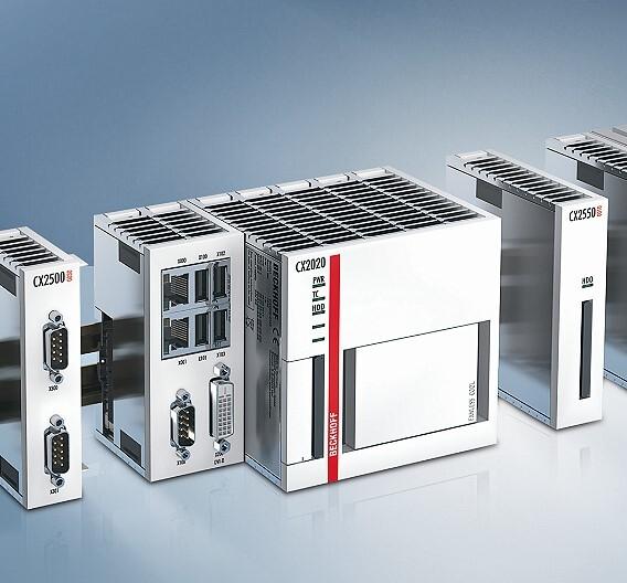 Die Embedded-PCs der Serie CX2000 von Beckhoff eignen sich für SPS, NC und CNC.