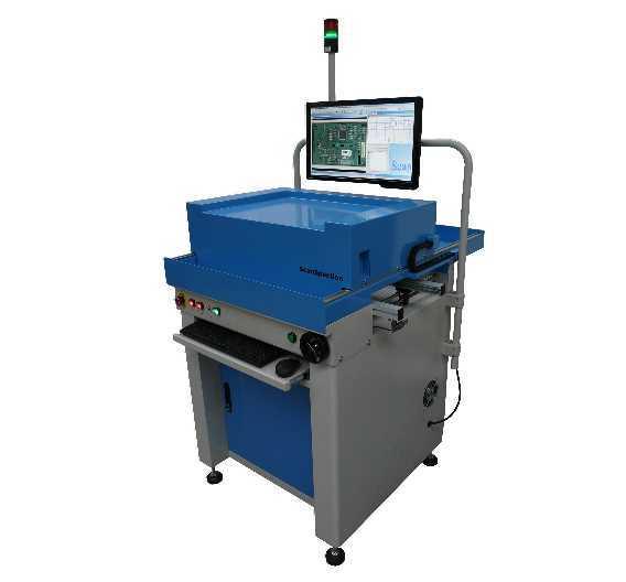 In-line-AOI-System des britischen Herstellers AOI Systems, vormals YesTek