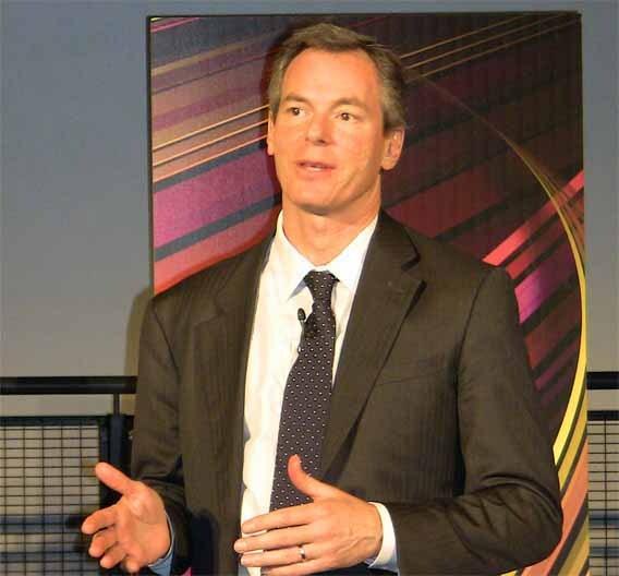 Paul Jacobs,Chairman und CEO von Qualcomm, zeigt sich äußerst zufrieden über die 36 % Umsatz-Steigerung gegenüber 2010