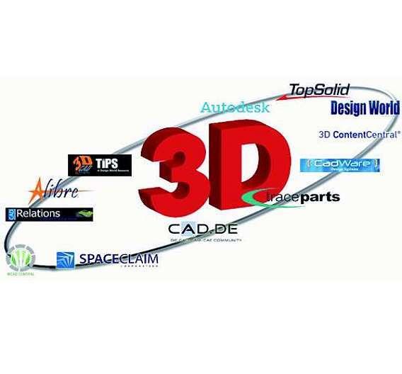 Bild 1: Mit der Veröffentlichung von 30000 3D-CAD-Modellen in 14 Online-Communities und Internetportalen hat RS Components vier Millionen Anwendern Zugriff auf das eigene Produktsortiment verschafft