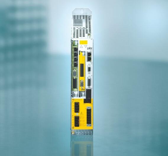 Das Motion-Control-Steuerungssystem »PMCprimo DriveP« von Pilz lässt sich zu einer All-in-One-Motion-Control-Lösung für Antrieb, Steuerung und Sicherheit erweitern.