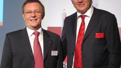 Erwin Fertig (links) und Hans Beckhoff