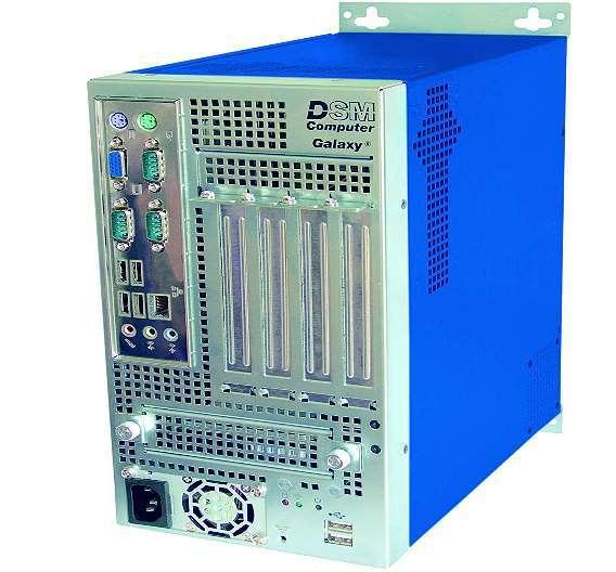 Bild 3: Der Schaltschrankrechner »Galaxy G1-A« von DSM bietet eine hohe Rechenleistung und eine breite Palette an Schnittstellen