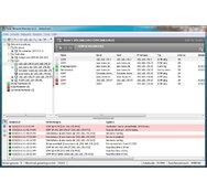 Die Windows-GUI von Total-Network-Monitor fällt im Vergleich mit den Web-GUIs der Konkurrenz schlicht und farblos aus. Sie ist aber funktionell, übersichtlich und einfach zu bedienen.
