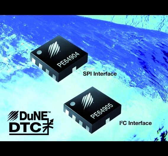 Die digital abstimmbaren Kondensatoren (DTC) PE64904 und PE64905