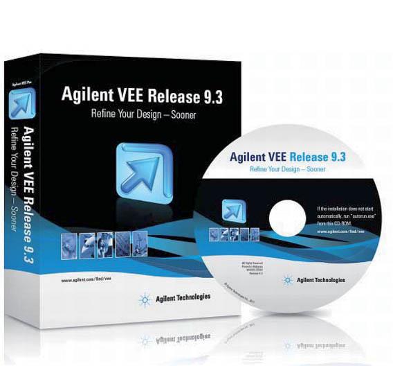 Die Software-Entwicklungsumgebung VEE Pro.
