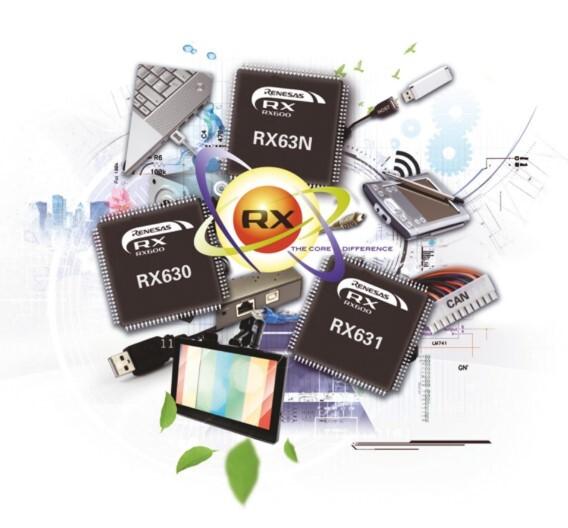 : Die RX63x-Familie bietet optimierte SoC-Lösungen für Einsatzbereiche, in denen hohe Rechenleistung gefragt ist.