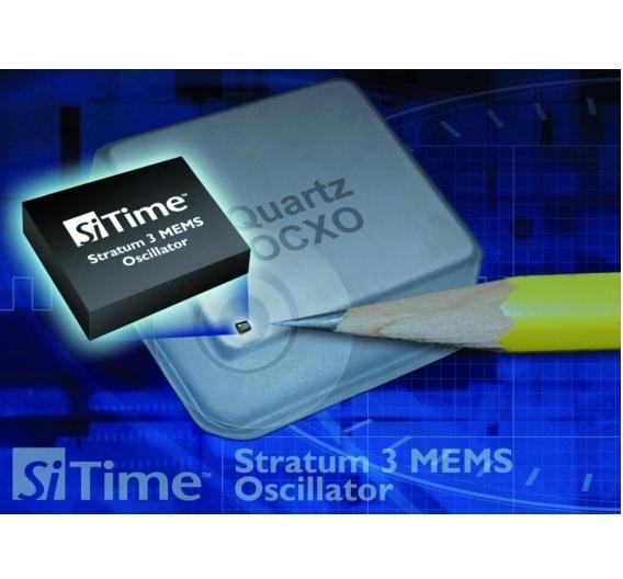 Die Stratum-3-konforme Silizium-MEMS-Zeitgeber-Produktfamilie SiT530x