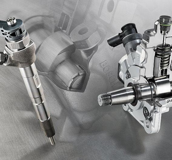 Das Common-Rail-System CRS2 mit Magnetventil-Injektoren deckt den Bereich vom Zweizylinder- bis zum Achtzylindermotor ab. Neben den millionenfach bewährten Ausführungen CRS2-16 sowie CRS2-18 mit 1.600 und 1.800 bar ist das System nun auch als CRS2-20 mit einem Systemdruck von 2.000 bar verfügbar.