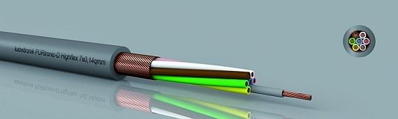 PURtronic Highflex bzw. PURtronic-D Highflex in der Abmessung 0,14mm²