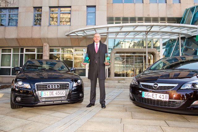 Die Gewinner des Gebrauchtwagenreports 2012