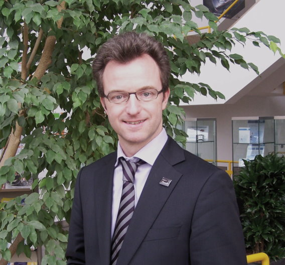 Stephan Lehmann, Direktor Global Automotive Marketing bei Freescale Semiconductor.