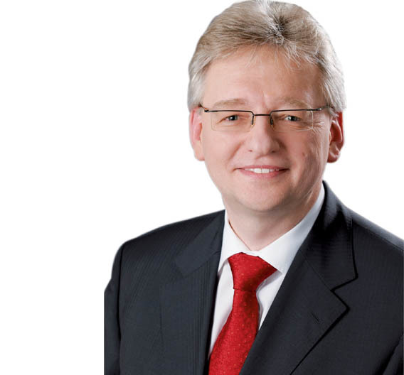 Helmut Matschi, Mitglied des Vorstands der Continental AG und Leiter der Continental- Division Interior.