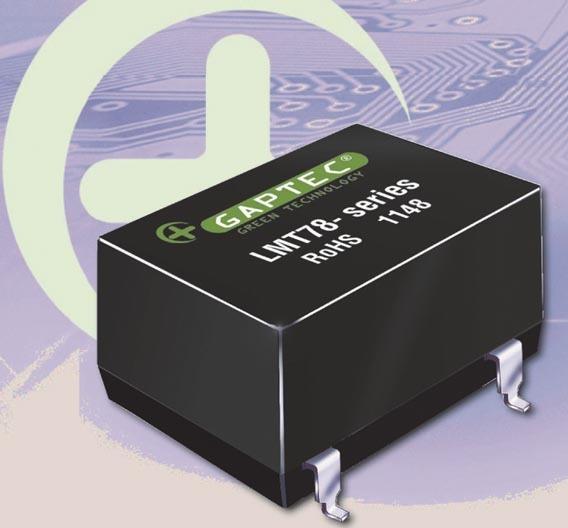 Ausgangsspannung von 1,8 V bis 15,5 V bringt der »LMT78«