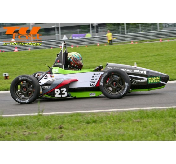Formula Student Electric Racer der TU München - TUfast