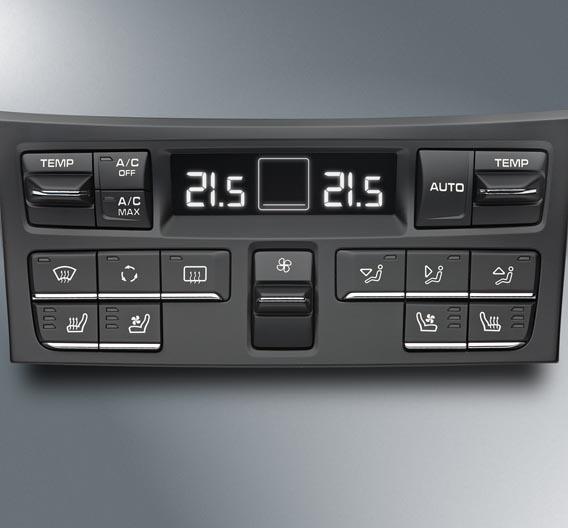 Das Klimabediensystem für den Porsche 911 wird von Preh am Firmensitz in Bad Neustadt an der Saale gefertigt.