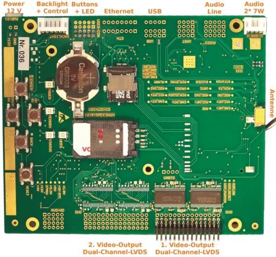 Der LVDS-Video-Player »L01« von X-Spex ist für die direkte Display-Integration konzipiert.